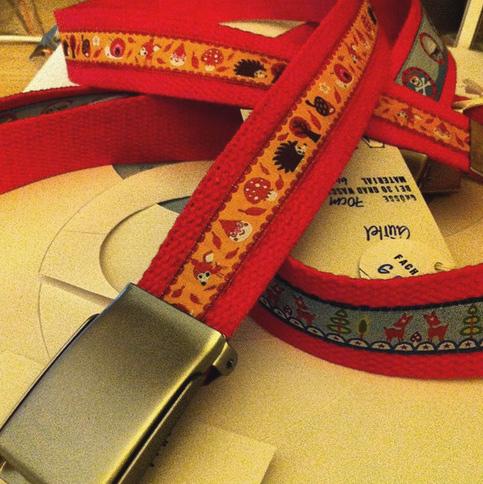 Gürtel Webband Gurtband bunt selber machen nähen farbenmix