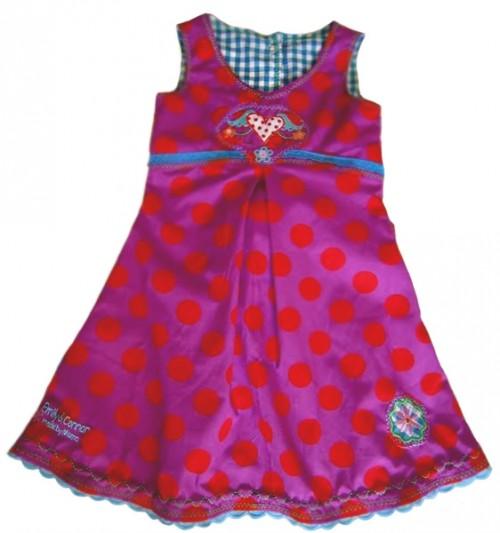 HALIMA Kleid Schnittmuster Mädchen farbenmix