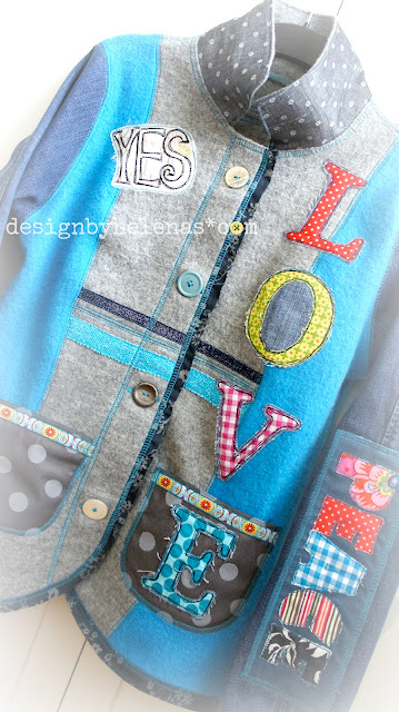 Schnittmuster Damenjacke, Jacke für Damen, farbenmix