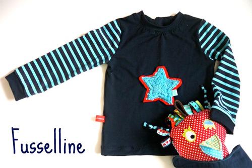 Schnittmuster Shirt für Jungs, farbenmix.de, XATER