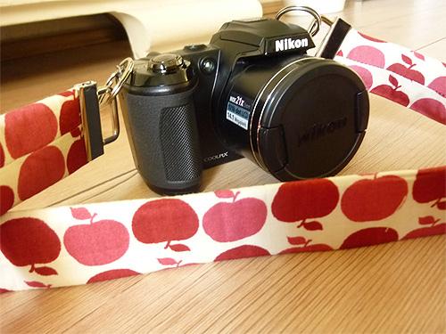 Kameraband schnell selbermachen Tutorial Anleitung farbenmix