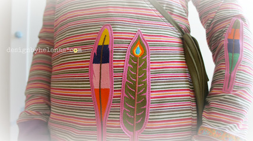 Schnittmuster Wickeljacke für Damen, OLAND, farbenmix