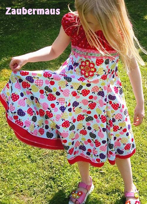 ELODIE Schnittmuster Kleid festlich sommerlich nähen farbenmix
