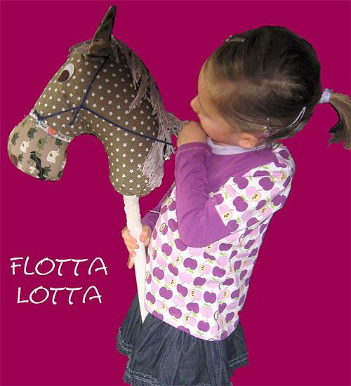 Flotta Lotta Kreativ-Ebook Anleitung Pferd Spiel farbenmix