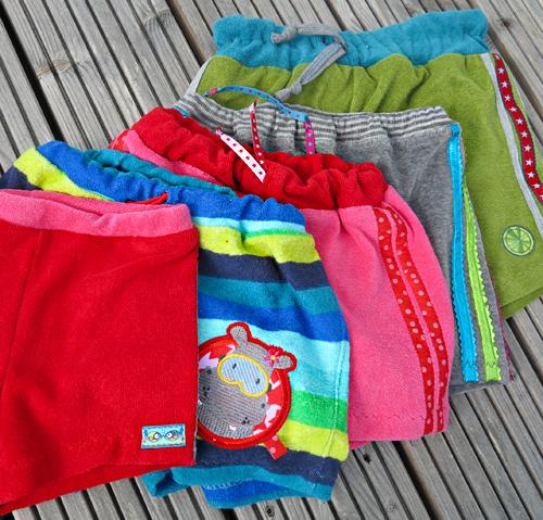 SHORTY, Schnittmuster kurze Hose, Shorts, Ebook, farbenmix.de