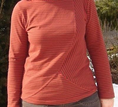 Shirt Schnittmuster, Damenshirt, farbenmix.de