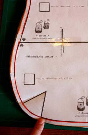 Abnäher übertragen Schnittmuster Tutorial Anleitung farbenmix