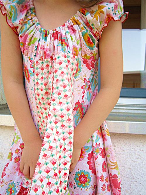Schnittmuster festliches Kleid ELODIE, farbenmix.de