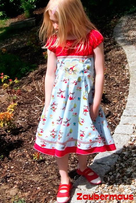 ELODIE Schnittmuster Kleid farbenmix