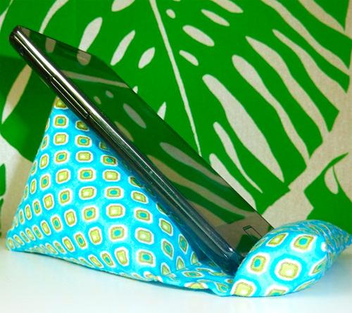 Handy Sitzsack Smartphone FREEbook gratis kostenlos Anleitung farbenmix