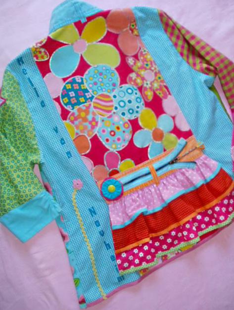 Schnittmuster Jacke, Damenjacke, farbenmix.de