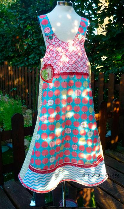 VIDA Kleid Schnittmuster Mädchen selber nähen farbenmix