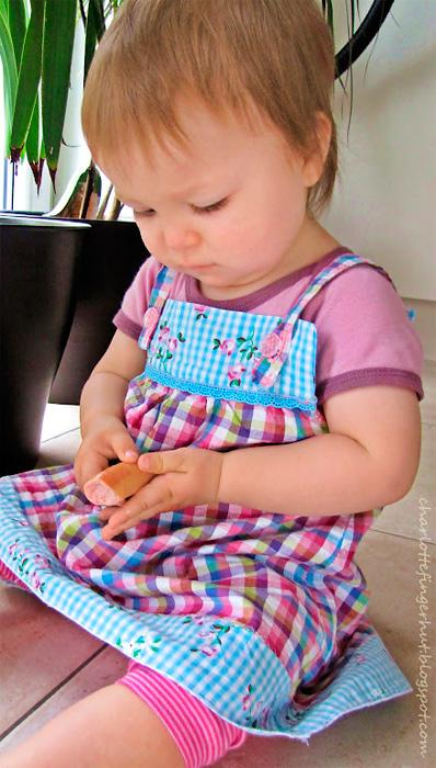 Zwergenverpackung Schnittmuster Kollektion Babykleidung farbenmix