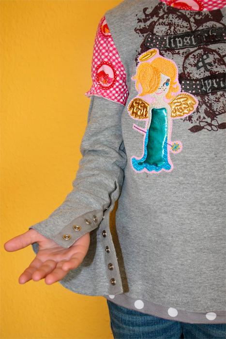 ANTONIA Schnittmuster Shirt Mädchen nähen farbenmix