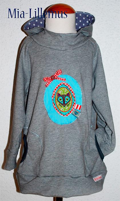 DANAI Pullover Sweatshirt Schnittmuster farbenmix