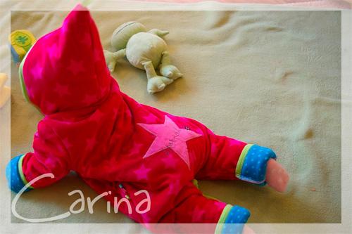 Zwergenverpackung Schnittmuster Baby Serie selber nähen farbenmix