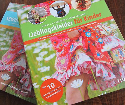 Lieblingskleider für Kinder, Nähbuch, farbenmix.de, Nancy Langdon