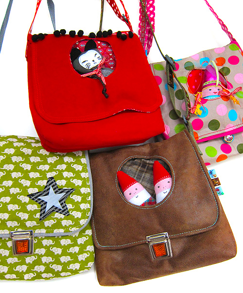Kindergartentasche Schnittmuster, nähen, farbenmix.de