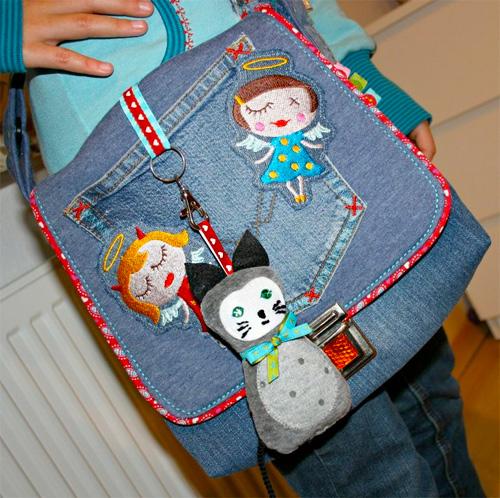 Kindertasche nähen, Schnittmuster, selber machen, farbenmix.de