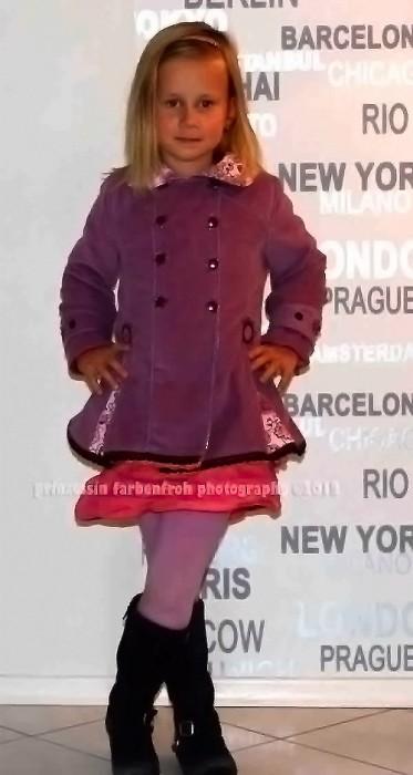 MARILUZ Schnittmuster Jacke Mantel Mädchen farbenmix