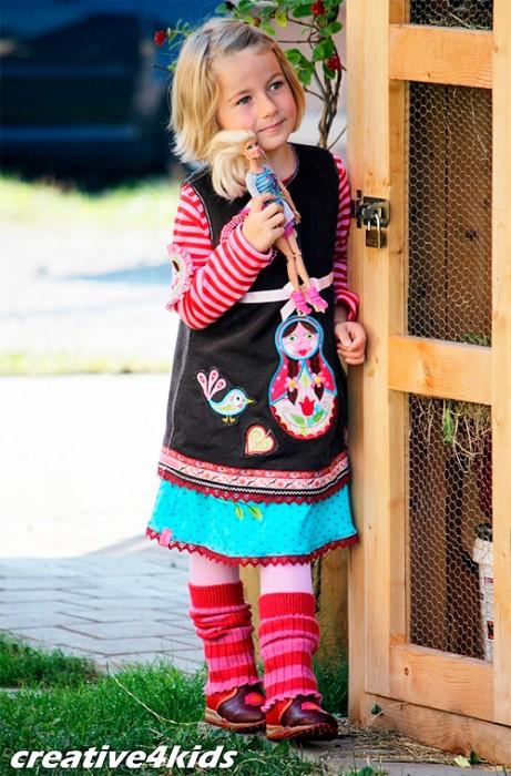 ARWEN Schnittmuster Kleid Mädchen farbenmix