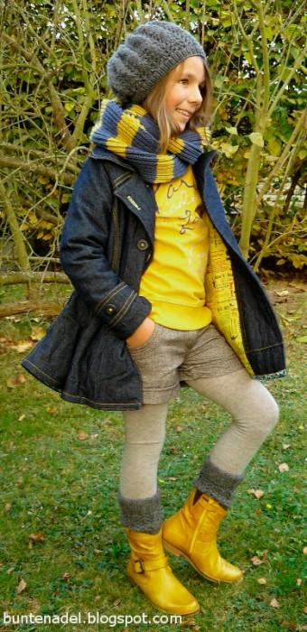 MARILUZ Schnittmuster Jacke Mädchen nähen farbenmix