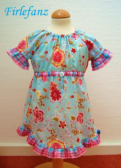 HANNAH Schnittmuster Shirt Bluse Mädchen farbenmix