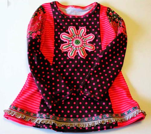 CLEMENTINE Schnittmuster Shirt farbenmix