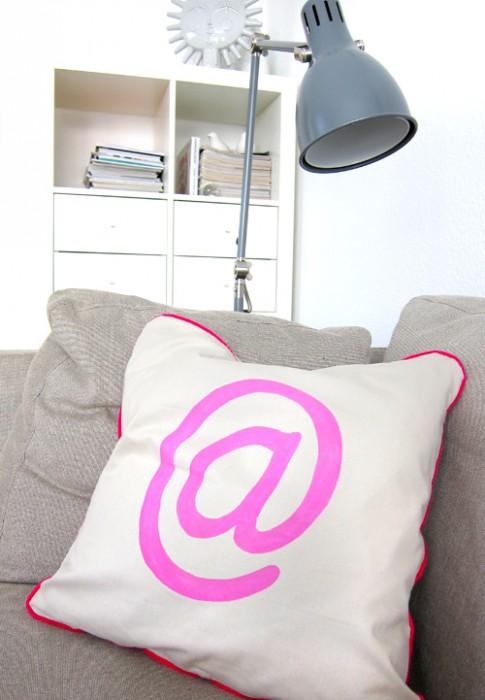 Stoffdruck, DIY, Tutorial, Neon, Stofffarbe, farbenmix.de