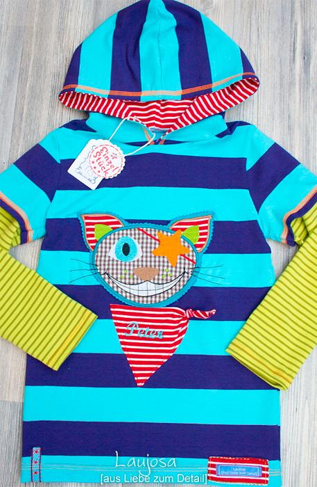 XATER Shirt Schnittmuster Mädchen Jungs nähen farbenmix