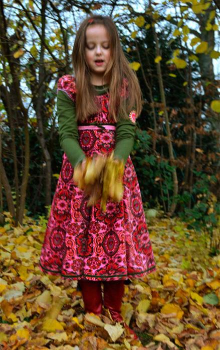 ELODIE Schnittmuster Kleid Mädchen farbenmix