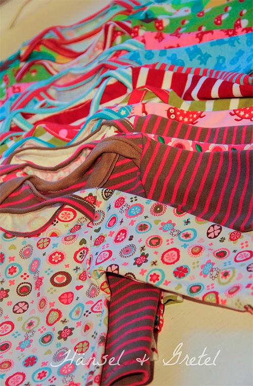 Zwergenverpackung Shirt Schnittmuster Baby nähen farbenmix