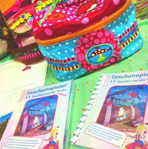 farbenmix Taschenspieler CD, Schnittmuster Taschen nähen