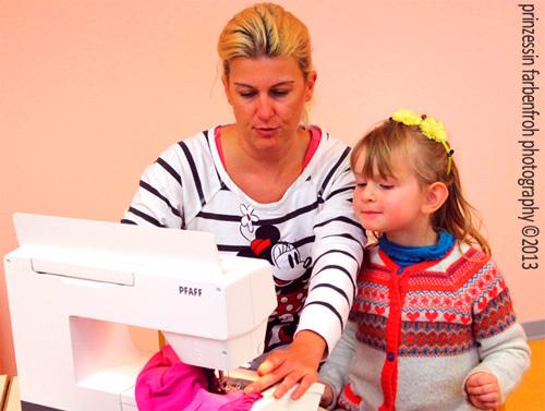 Nähen mit Kindern Nähkurs farbenmix