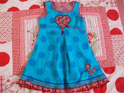 HALIMA Kleid Schnittmuster Mädchen nähen farbenmix