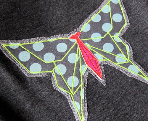 Sticken auf Jersey oder fertigen Shirts, farbenmix.de