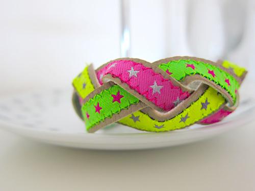 Flechtarmband, Armband nähen, farbenmix.de, annesvea