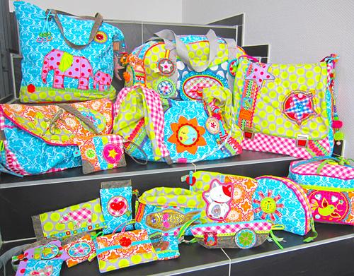 Taschen nähen, Taschenspieler, Schnittmuster, farbenmix.de