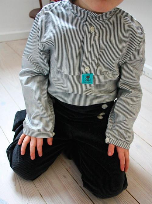 BJARNE Schnittmuster Shirt Hemd nähen farbenmix
