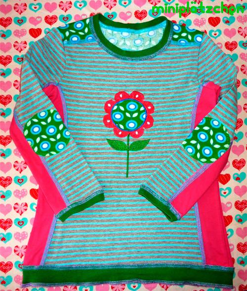HILDE Schnittmuster Shirt nähen farbenmix
