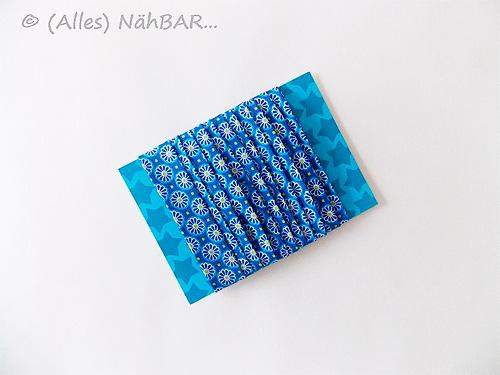 Schrägband aus schönem Stoff, selbermachen, Anleitung mit Fotos