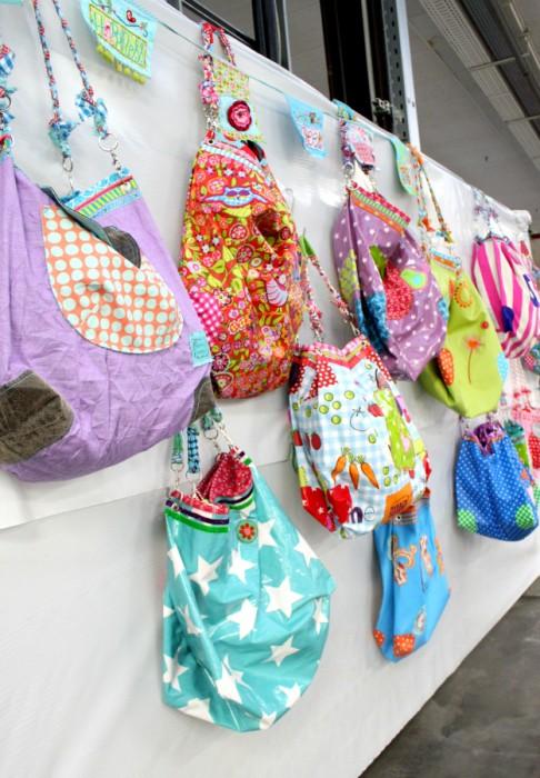farbenmix Taschen bunt nähen
