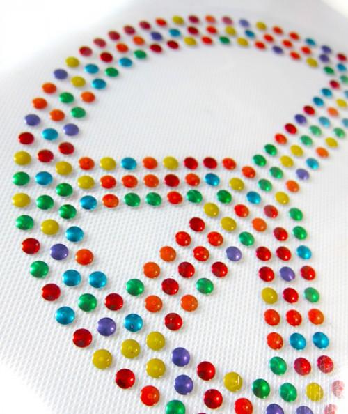 Bügelmotiv farbenmix