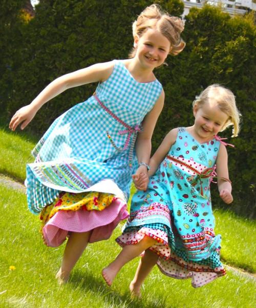 Festtagskleid Unique farbenmix