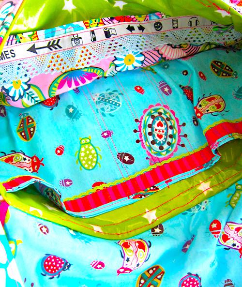 Farbenmix Taschen-Schnittmuster: BUBE Messenger