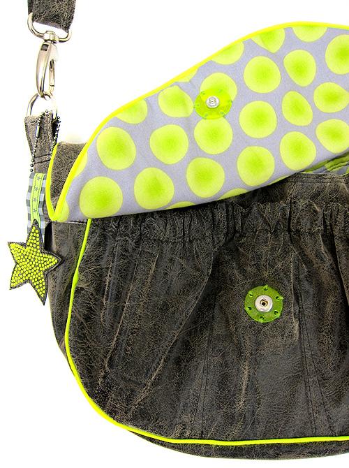 Drücker kaufen für Taschen und Kleidung, neonfarben