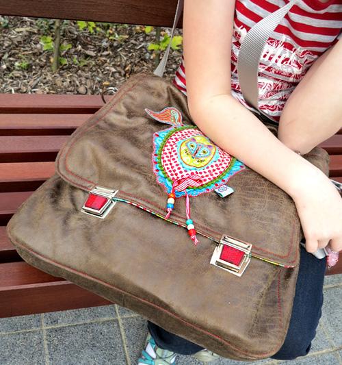 Tasche selber nähen, ganz leicht mit der farbenmix Taschenspieler-CD