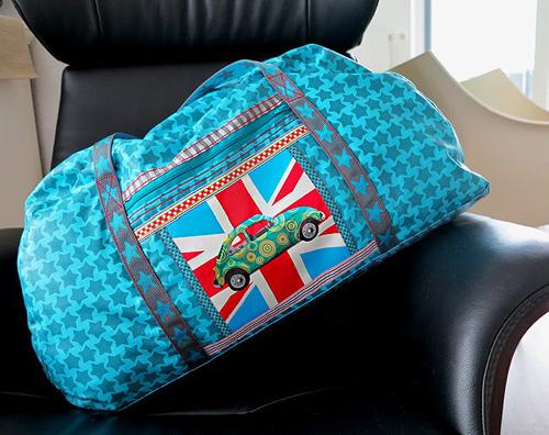 Schnittmuster Reisetasche, Handgepäck von farbenmix