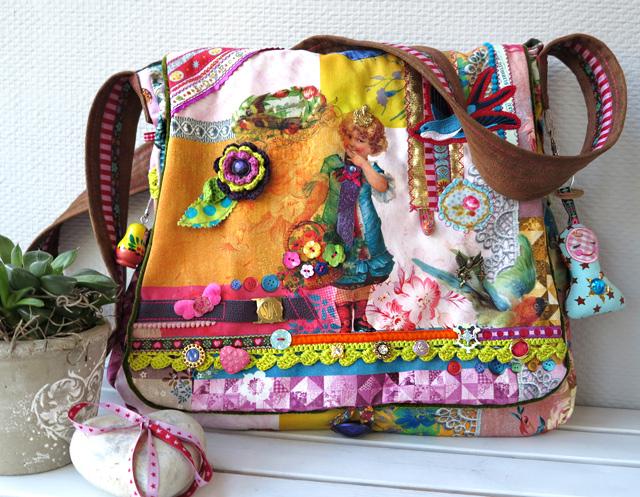 Taschen selbermachen, Nähanleitung von farbenmix