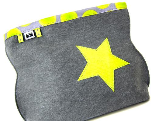 Filztaschen und Handyhüllen selbermachen aus Filz